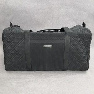 NWT Vera Bradley Large Duffel Travel Classic Black
